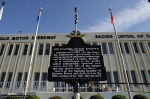 The Indianapolis Motor Speedway, racing capital of the world
