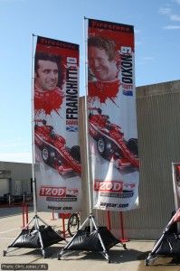 Promoting the Target boys, Dario Franchitti and Scott Dixon