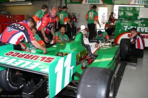 Kanaan caused Andretti Autosports' mechanics a lot of work
