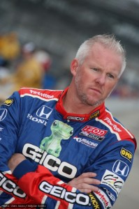 Paul Tracy missed qualifying for the race