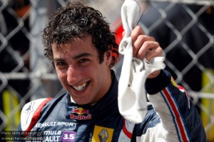Daniel Ricciardo is rapidly making a name for himself