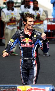 A dominant win for Mark Webber