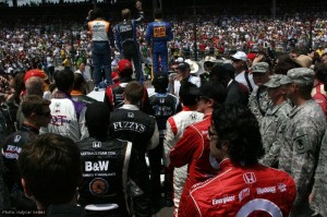 Driver introductions - but Moraes, Hamilton and Conway would all crash