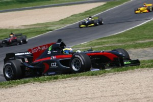 Tappy on track at Imola