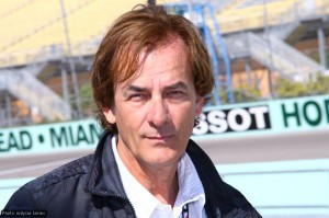 Conway's driver coach and two-time Indy 500 winner Arie Luyendyk