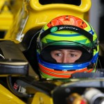 Sims raced in Auto GP with the Charouz-Gravity team