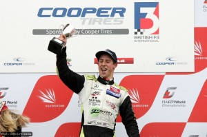 Victory as a guest driver in British F3