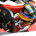 Sims was an invitational driver in British F3 for races at Silverstone and Spa