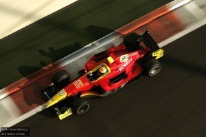 GP2 testing with Racing Engineering