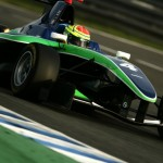 Taking the Status Grand Prix GP3 car out in Spain