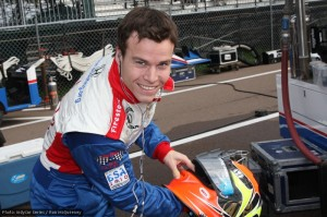 Alex Lloyd at St Pete for Dale Coyne
