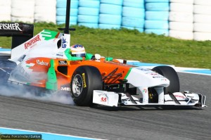 Formula One Testing, Day 3, Jerez, Spain