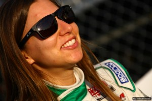 Simona de Silvestro couldn't make the podium, but still scored her best result