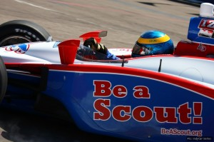 Sebastien Bourdais is the new driver for the Boy Scouts of America