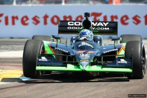 Mike Conway was impressive in qualifying