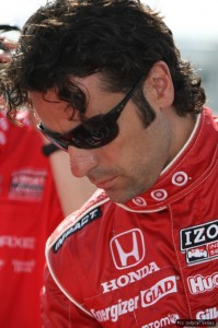 Dario Franchitti qualified in second position