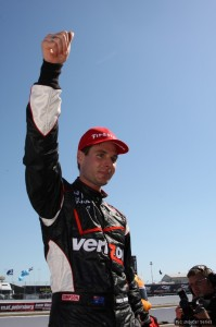 It's Will Power on pole - as usual at St Pete