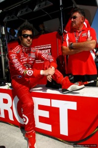 Dario Franchitti takes it easy