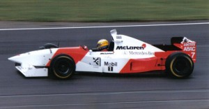 Mark Blundell, 1995 British Grand Prix. Pic: Fox1, via Wikimedia COmmons