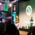 Team Lotus boss Tony Fernandes makes his pitch