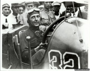 Ray Harroun, winner of the first-ever Indianapolis 500
