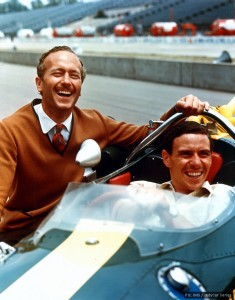Jim Clark won the race in 1965 for Colin Chapman and Lotus