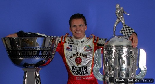 By the end of 2005 the IndyCar Series championship trophy and the Borg-Warner were both his