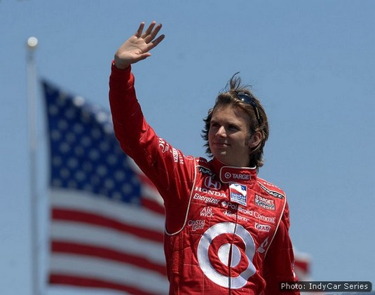 Victory in Iowa for Target Chip Ganassi Racing, 2008