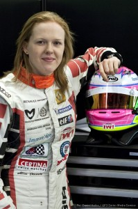 Alice Powell will drive for Status GP this season