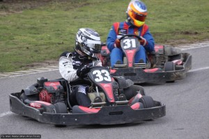 Chris van der Drift battles Max Wissel
