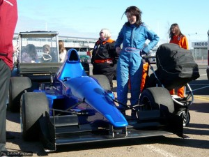 Two sides to women in racing