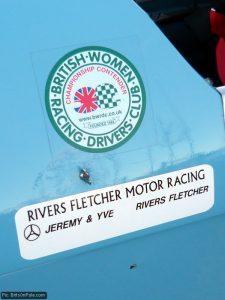 The British Women Racing Drivers' Club logo