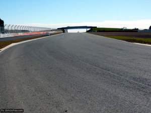 The end of the National Straight - now part of the F1 route