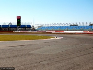 Silverstone from the track