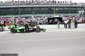 Danica Patrick takes it easy for a while