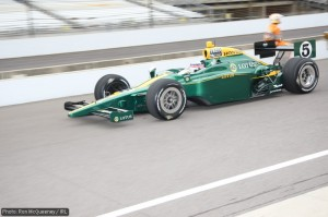 Takuma Sato is bringing the Lotus name and colours back to Indy