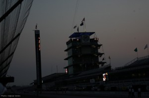 May 30th dawns over the IMS pagoda