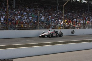 Ryan Briscoe was one of the pre-race favourites