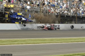 Mike Conway's terrifying crash