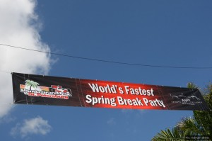 Usually they mean something different by being fast on Spring Break