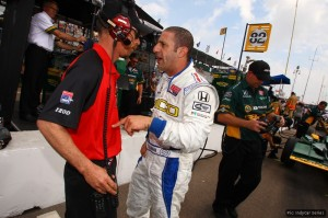 Tony Kanaan only secured a late deal to race this year