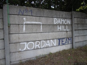 Damon Hill is not forgotten...