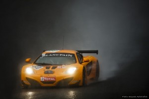 The MP4-12C GT3 in action at Spa