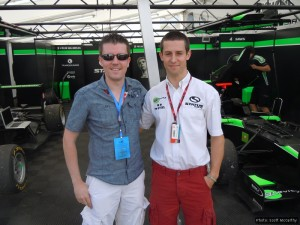 Scott McCarthy and Alexander Sims