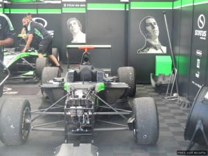 Sims is one of three drivers with Status GP this year