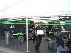 The Status GP team hard at work