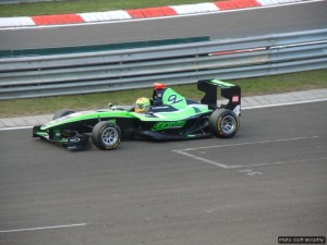 On-track action in Hungary